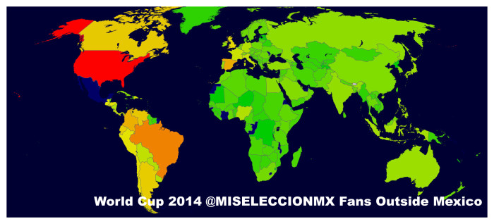 ALL Mexico World Cup outside of Mexico